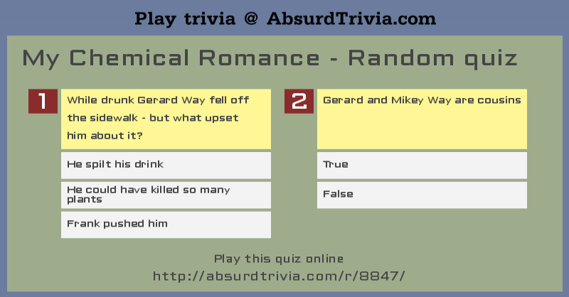 Killjoy name quiz