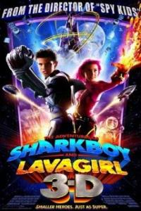 Adventures of Sharkboy and Lavagirl Artwork